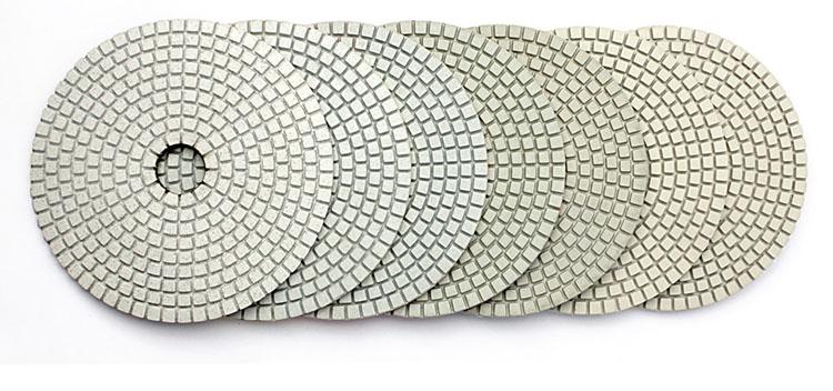 Z-Lion ZL-123A-C High Quality Wet Polishing Pad for Stone Quartz Granite Marble Polishing