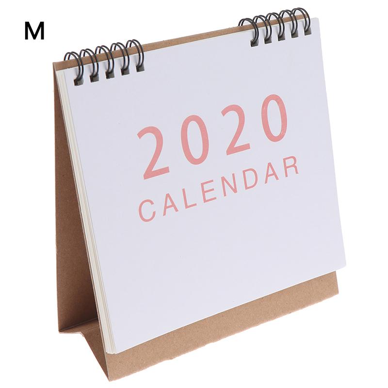 2020 Настольный календарь Kawaii порядок дня Настольный календарь на каждый день планировщик расписаний школы планировщик(Китай)