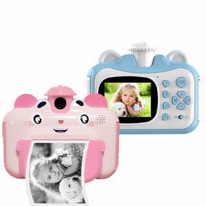 Детская камера с мгновенной печатью для маленьких детей 1080p HD Маленькая мини-камера с термобумагой Игрушки Цифровая камера Подарки игрушки B