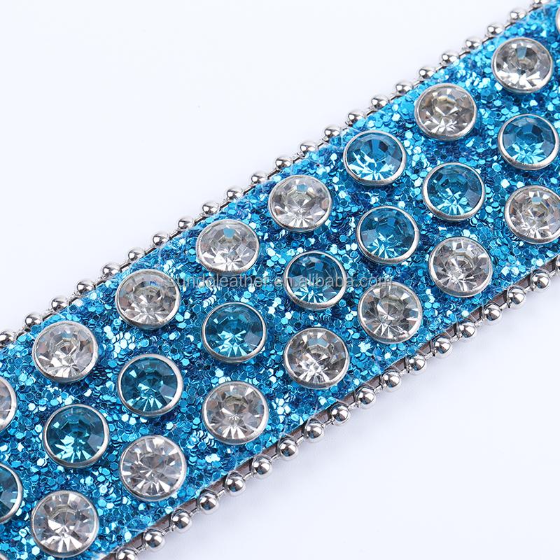 famoud brand diamond studded western cowboy leather jeans sparkle men designer rhinestone women belts