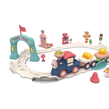 Wholesale thomas train toys for cute kids electric train with light