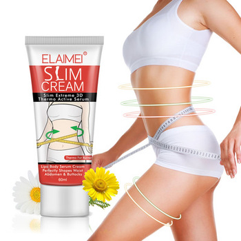 Slimming & Firming Cream Body Fat Burning Massage Gel Weight Losing Hot Serum Treatment for Shaping Waist Abdomen and Buttocks