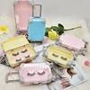 cute small suitcase box for eyelash