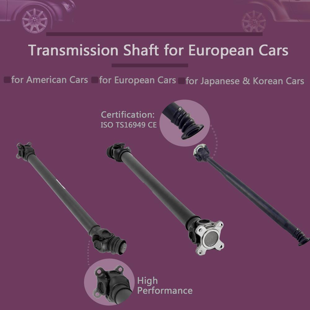 ZPARTNERS transmission cardan shaft propeller drive shafts for BMW e46 e83 26207502968 26207525969