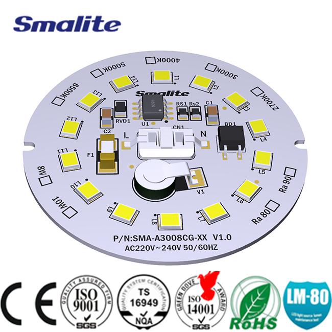 Non chromatic high temperature resistant DOB LED module 220V, 3000K, ra90