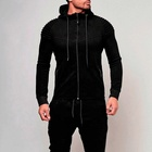 Unisex Hoodie High Quality Cotton Hoodies High End Oversized Thick Water Repellent Mens Clothing Unisex Cotton Spandex Long Sleeve Zipper Hoodie And Sweatpants Set