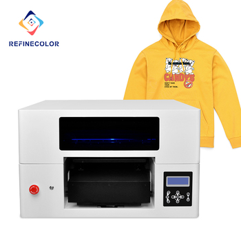 Cheap Direct To Garment Printer A3 33cm*60 Dtg Cotton T-shirt Printing Machine With One Free Computer printing shop machines