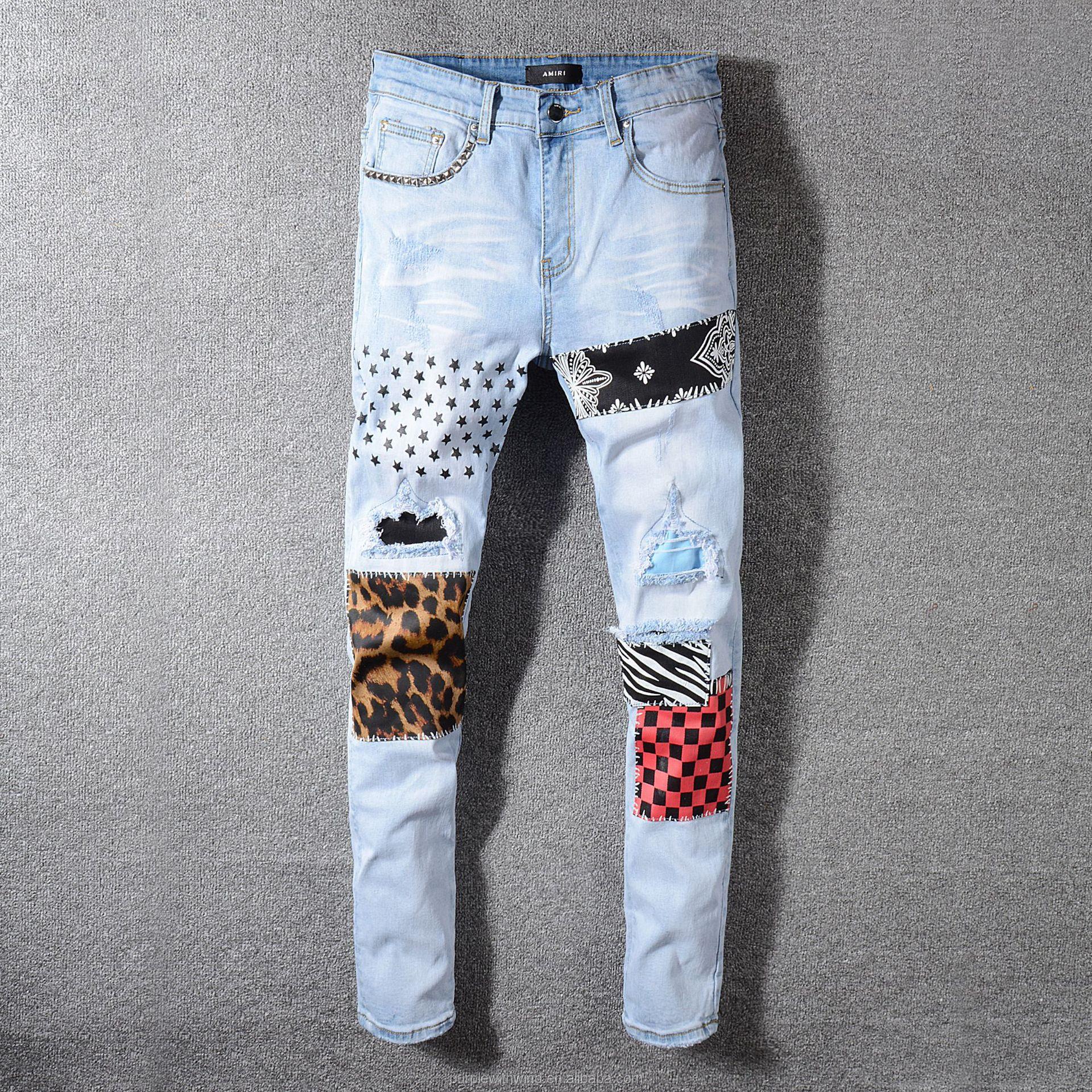 Pantalones Vaqueros Rasgados Con Parche Para Hombre Y Nino Vaqueros Rasgados De Estilo Urbano Gran Oferta En Amazon Buy De Los Hombres Pantalones Vaqueros Amazon Venta Caliente De Los Hombres Jeans Product On