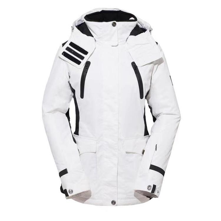 MKZ Women Winter Jacket Girls Winter Coats Ski Jacket Women White Snow Jacket Waterproof & Windproof