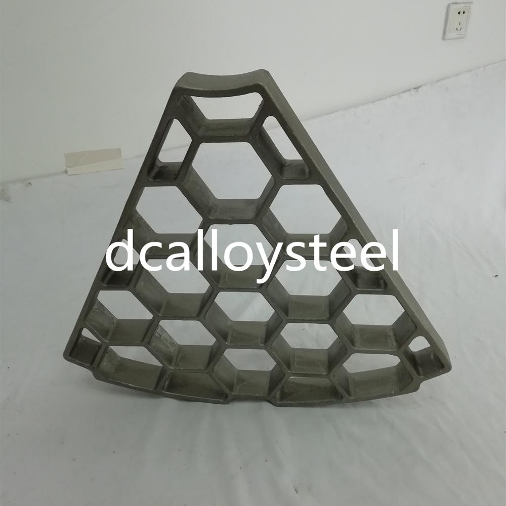 Heat treatment alloy steel heat resistant innestment casting tray for furnace
