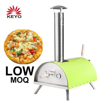 KEYO Individual Outdoor Woodfire Fire Burining Wood Fired Pizza Oven
