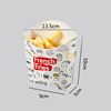 L french fries box-100pcs
