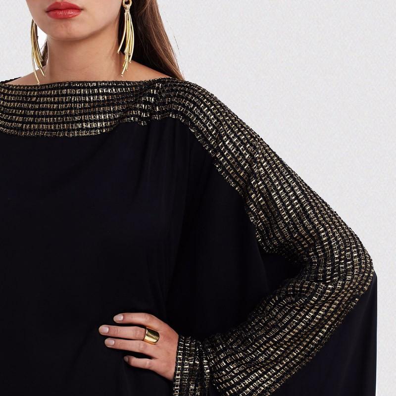 MXCHAN кафтан Черный Макси-Размер Модная абайя в Дубае последние дизайны Абайи 2020 Дубай