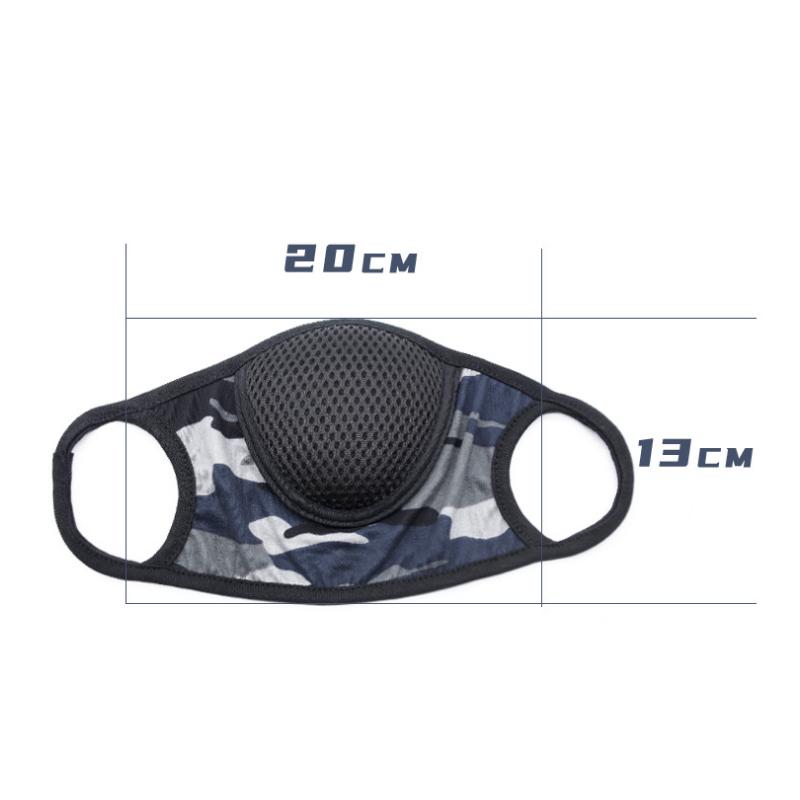 Маска стильная для взрослых дышащая черная 2021 Низкая цена Высокое качество спортивная хлопковая модная маска с фильтром защита от пыли