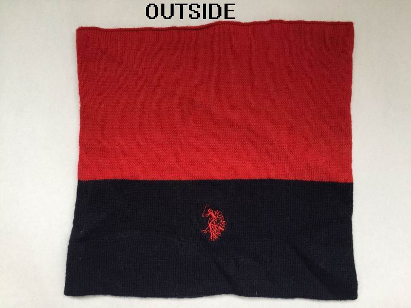 Multifunctional high quality scarf Custom logo jacquard Winter knitted neckwarmer for kids
