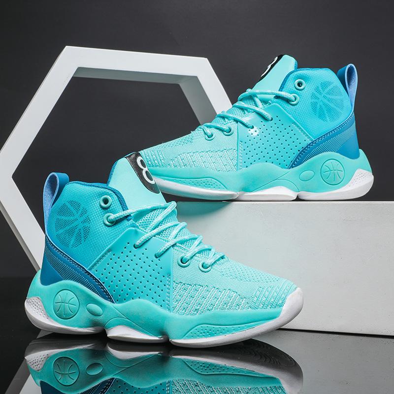 Высококачественный детский дешевый Пользовательский логотип Oem Odm оптовая продажа спортивная детская китайская Баскетбольная обувь для улицы
