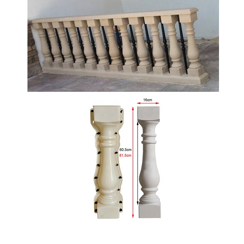 ABS Plastic injection concrete balustrade molds for sale