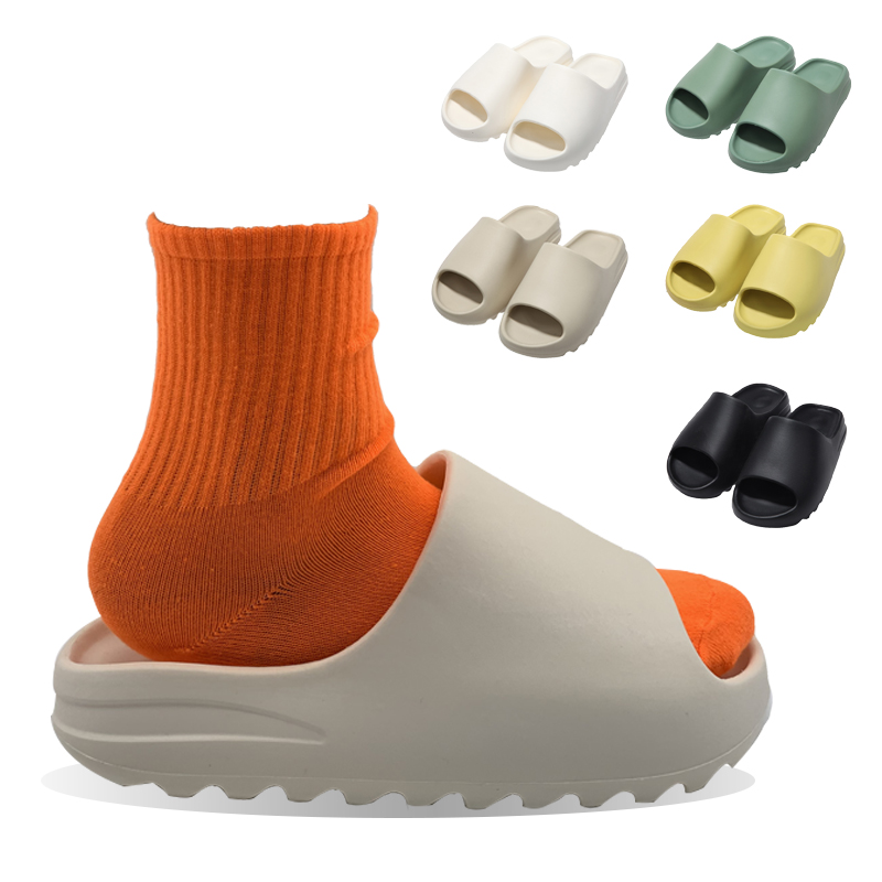 drop shipping kids yeezy slides slippers pink red yezzy slippers colorful for womens and ladies