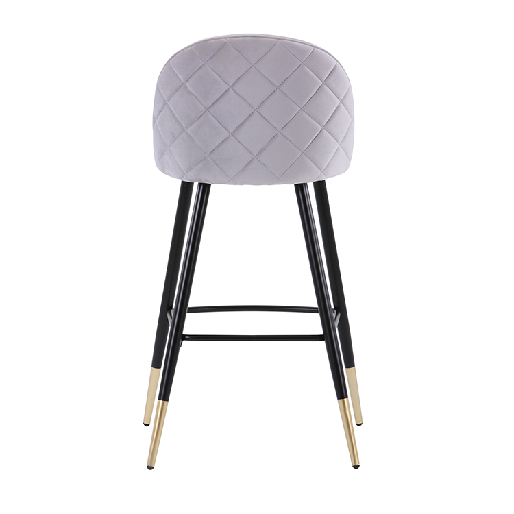 commercial small custom buy kitchen luxury outdoor counter high modern cheap nordic bar stools metal grey industrial fabric