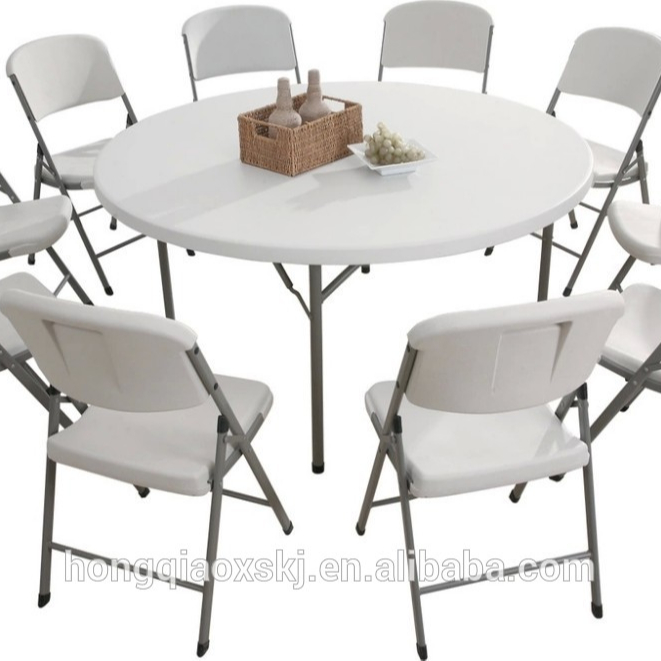 6ft Plastic Round Folding Table 180cm Blow Mold High Quality Dinning Table Big Folding Round Banquet Table From China Supplier Buy High Quality Round Dining Table Plastic 6ft Round Table Big Plastic Folding Round Table