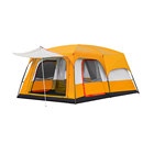 Family For 2 3 4 Person Outdoor Anti Rain Waterproof Tent And Big Rooms Family Light Camping Tents