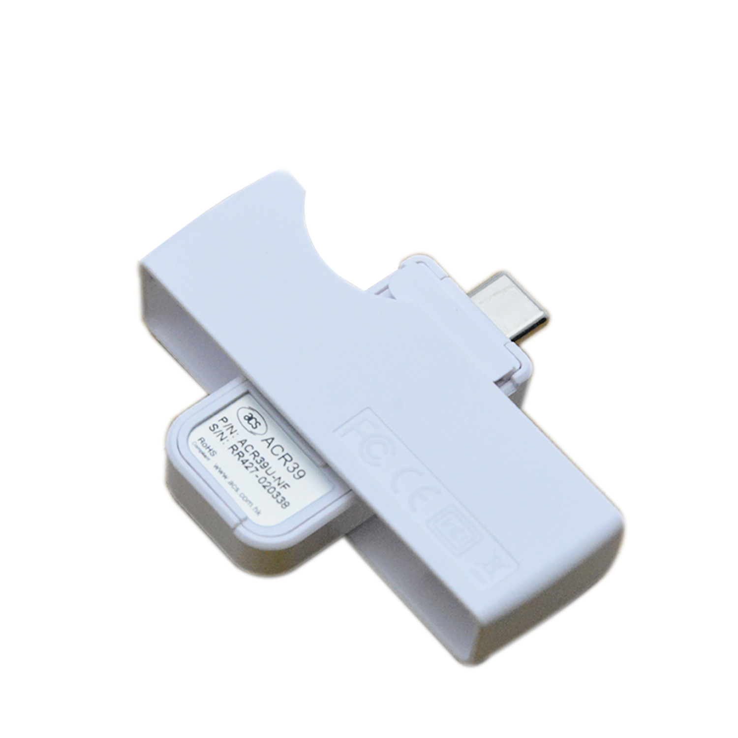 Support Android portable Type C smart card reader iso 7816 with free SDK ACR39U-NF