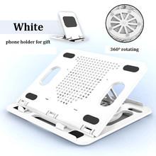 Подставка для ноутбука с поворотом на 360 °, регулируемая по высоте подставка для Macbook Pro Air, подставка для ноутбука, охлаждающий кронштейн для ...(Китай)