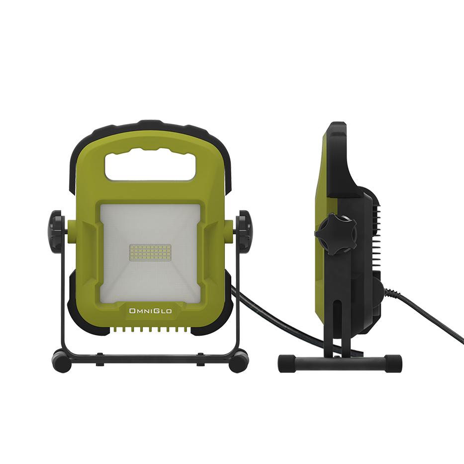 New High Quality Green Most Efficient Light Engine Premium Leds  Plug-in 3300 Lumen Flood Work Light For Outdoor Work