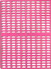Model B-1 Pink kennel lantai