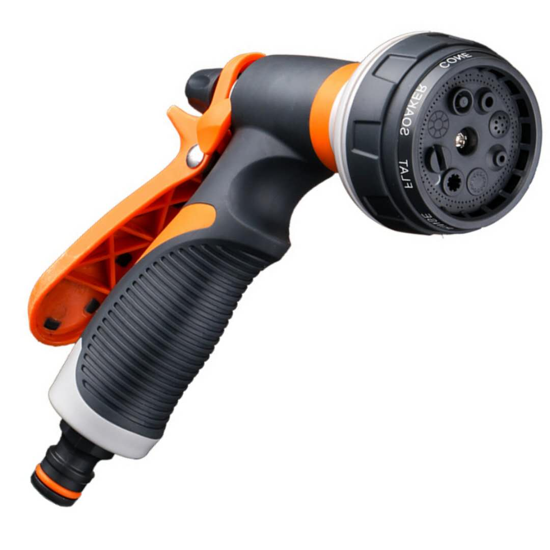Global Material Pistola de riego Regulable Zinc 8 Funciones
