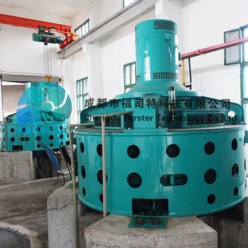 2MW Large Power Hydro Turbine Generator For Water Power Plant