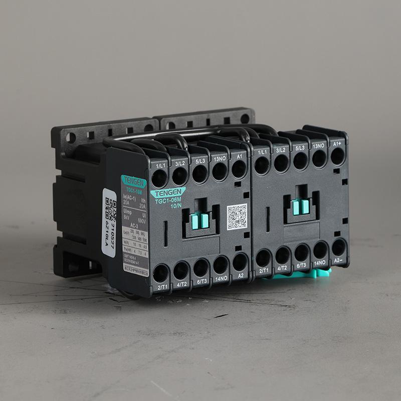 Высококачественный 24Vdc 3 Pole 6A 9A 12A 18A 25A 32A контактор