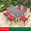 17-6 JL chair 1 oblique line pattern table 170*87cm