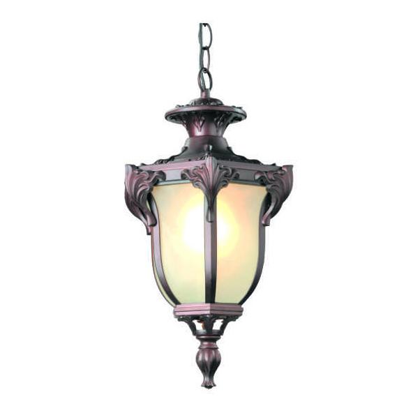 Классические уличные люстры и подвесные светильники для сада