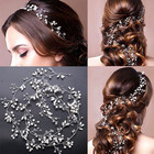 Wedding Crystal Headband Wedding Headband Fashion Trend Wedding Hair Accessories Crystal Pearl Headband Wedding Bridal Hair Accessories Headdress