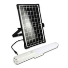 Solar With Charger Solar Light With Usb Charger Multifunction 10W Portable Solar Batten Light With Usb Charger And Optional Installation