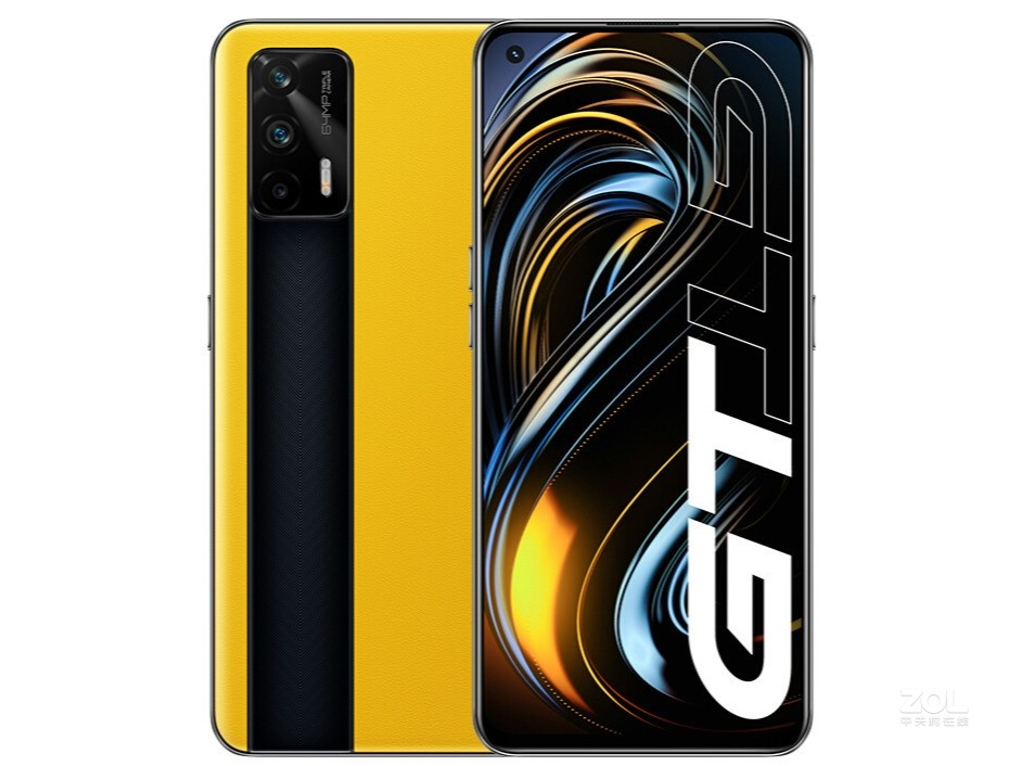 """Original Realme GT 5G Mobile Phone SN 888 Android 11.0 6.43"""" 120HZ AMOLED 8GB/12GB RAM 128GB/256GB ROM 64.0MP 65W Super Charger"""