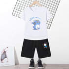 Boy Children Short Sleeve Custom Printing 100% Cotton Cartoon Plain Boy T Shirts