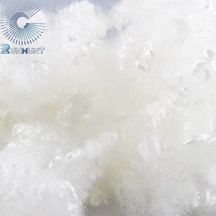 26 Years Focused Production Stuffing Quilt Pillow Fluffy Rebound Material hollow Polyester Staple Fiberfill Bales For Filling