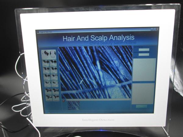 Wholesale price portable touch screen hair scalp analyzer