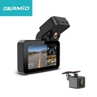 Easy Installation Three Channel Dash Camera With Front View 1080P The Other Two Video 720P Wifi Gps Car Dvr Recorder