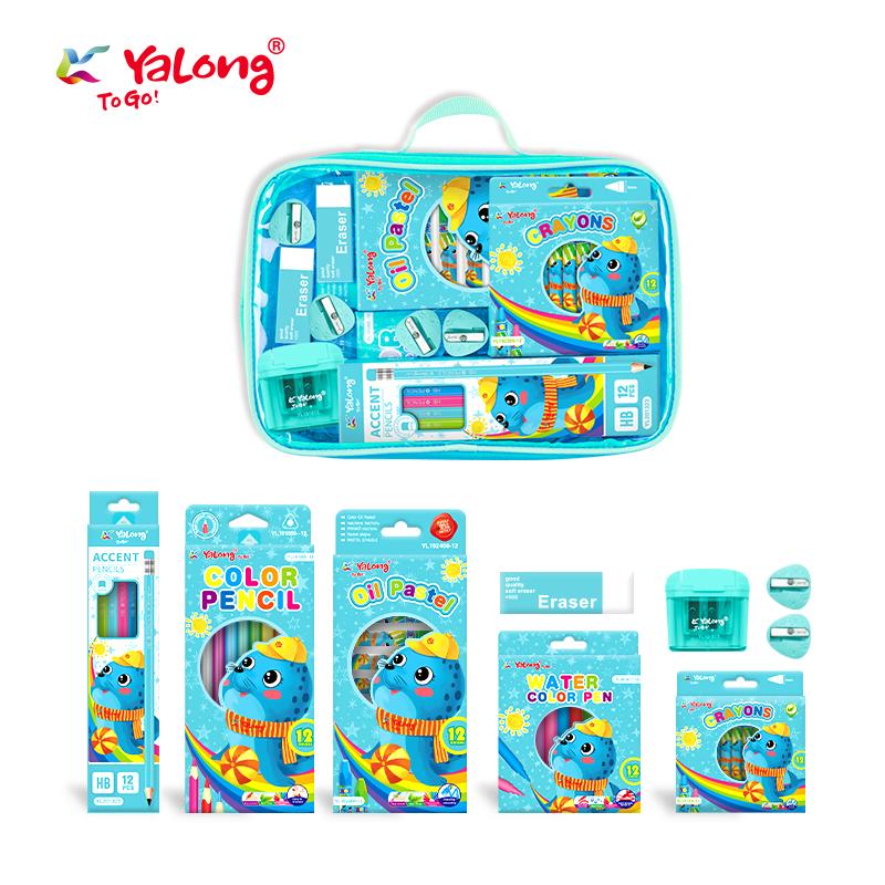 Back to school hot selling stationery set cartoon design stationery gift set