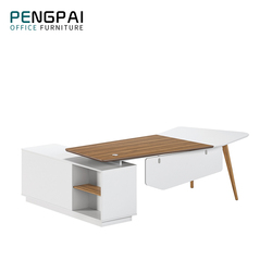 Pengpai modern melamine wood table executive furniture office desk