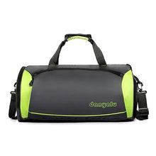 Дорожная сумка для мужчин, баскетбольная спортивная сумка с независимой обувью, водонепроницаемая Повседневная переносная сумка для фитне...(Китай)