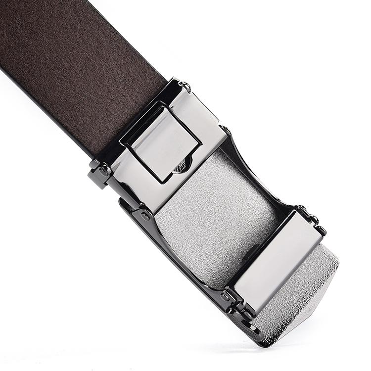 Wholesale Customized Automatic Buckle Waisted Bell Leather Men Belt High Quality Luxury PU 3.5CM,3.5CM Gun Black Availble 300pcs