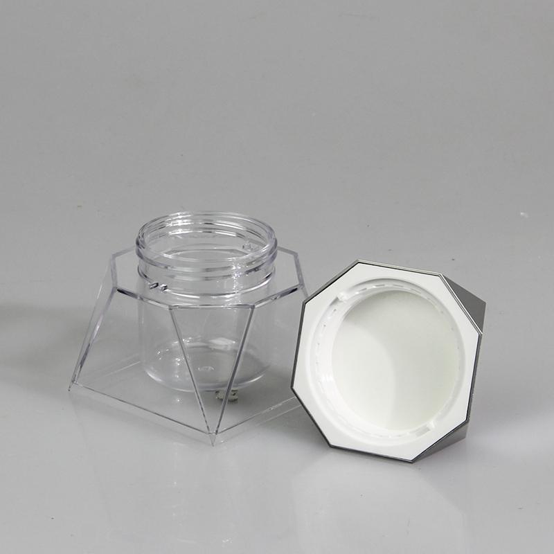 Wholesale low price fast delivery 100ml plastic jar in bulk custom logo