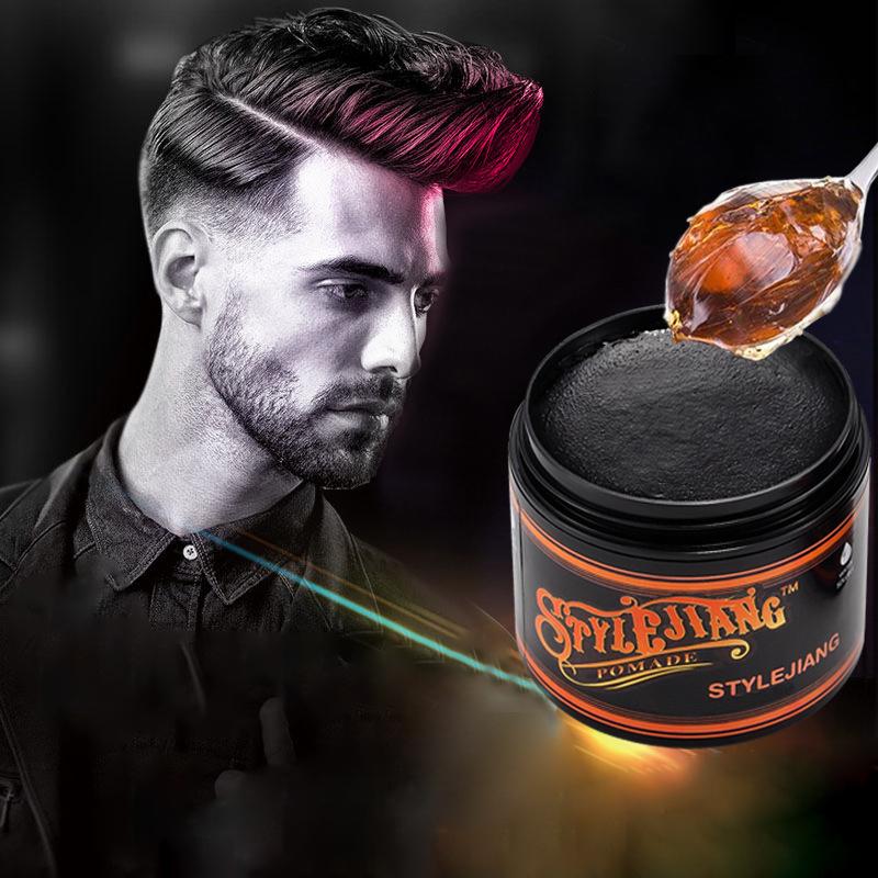 Частный бренд, 120 г, воск в виде пчелы для сильной фиксации, продукт для укладки волос, помада, восковая помада, воск для мужчин