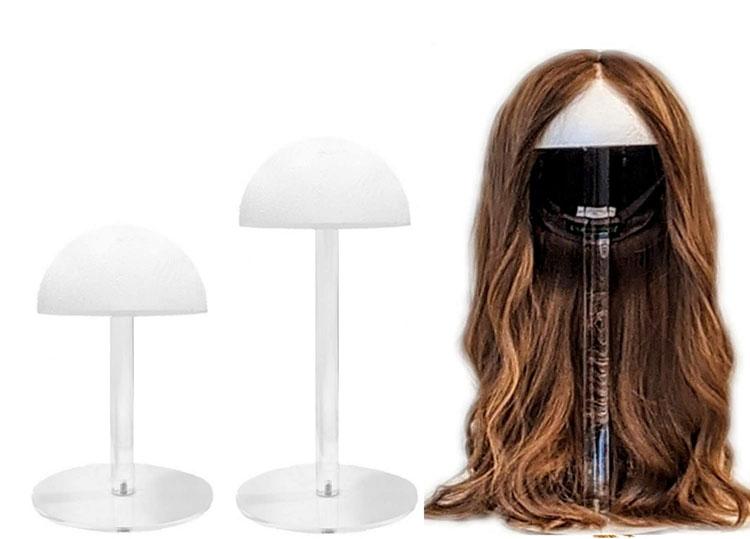 JAYI, оптовая продажа, лидер продаж на Amazon, отдельно стоящая прозрачная акриловая витрина для париков
