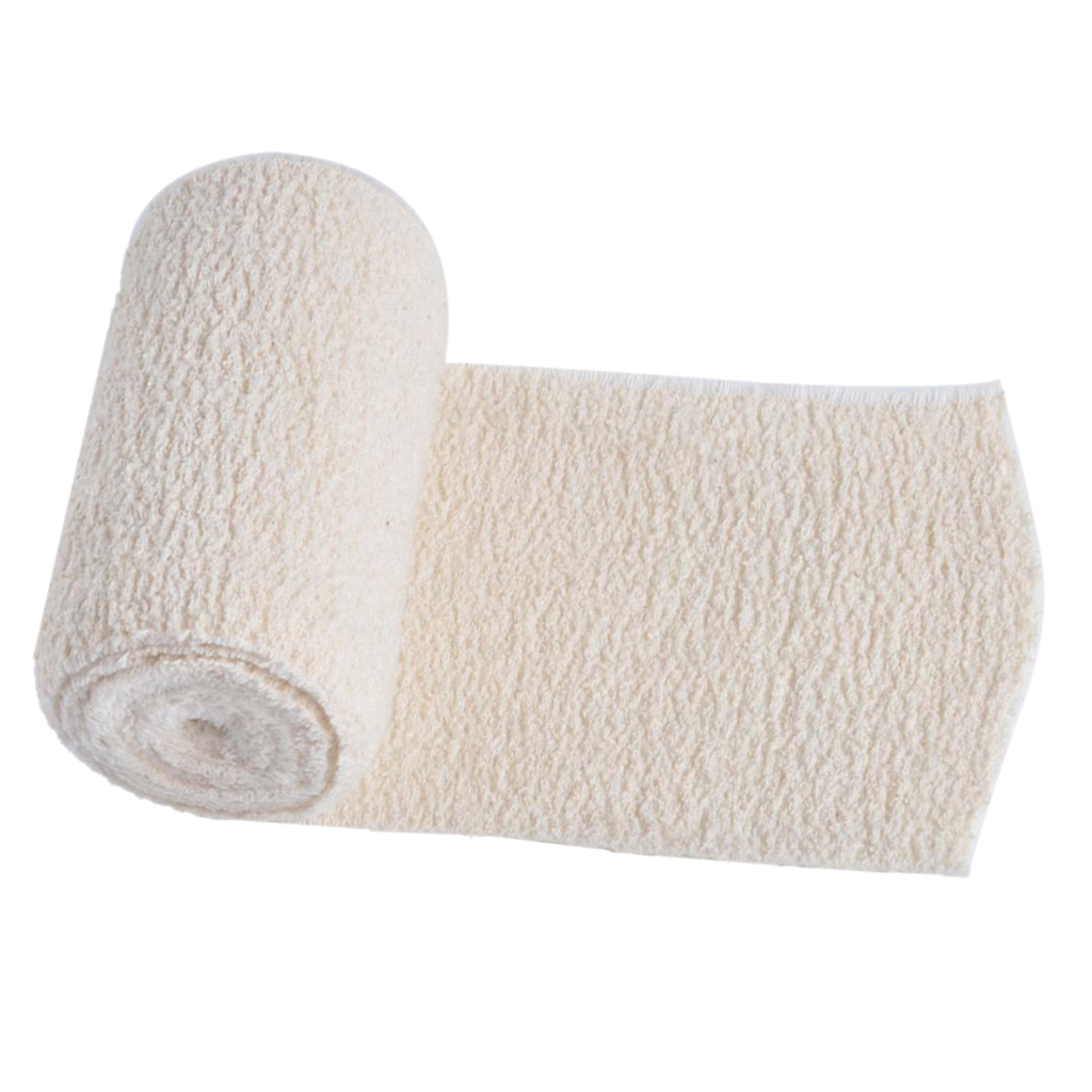 Thick Premium Cotton Elastic Bandage Roll Wrap Sports First Aid