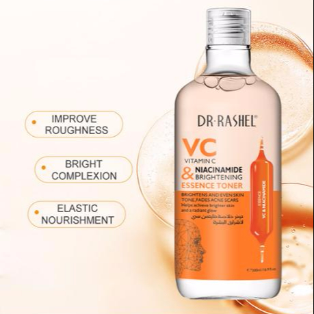 DR.RASHEL VC&NIACINAMIDE BRIGHTENING Facial Skin Toner 500ML, View VC Toner,  DR RASHEL Product Details from Yiwu Rashel Trading Co., Ltd. on Alibaba.com